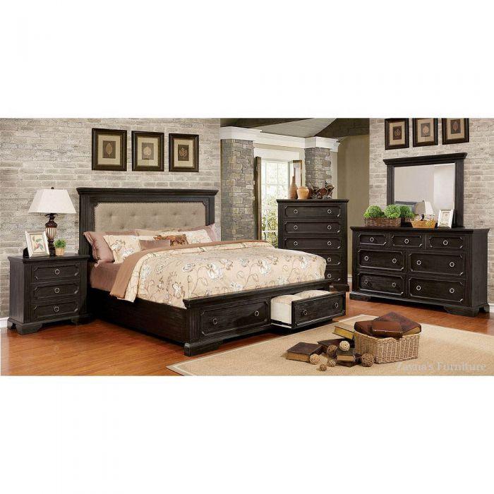 Roisin 4 Piece Queen Bedroom Set